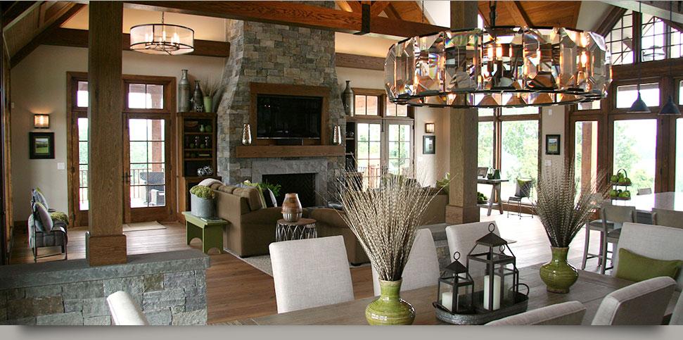 Farmhouse Chic Interiors by HOM Interiors