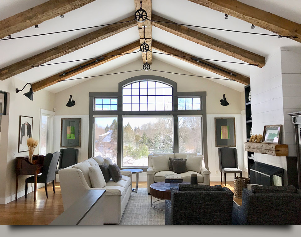 Baldwin Hill Interiors by HOM Interiors